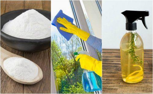 自宅で簡単!エコフレンドリーなガラスクリーナーの作り方