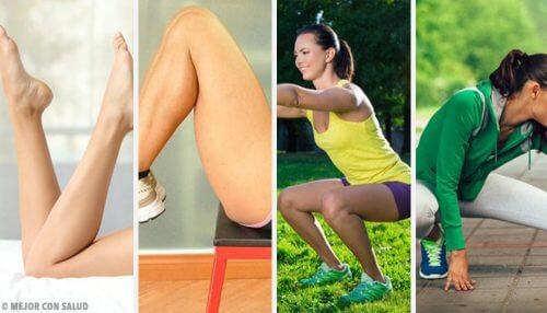 自宅で足を鍛える方法