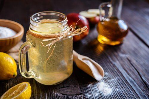 リンゴと酢