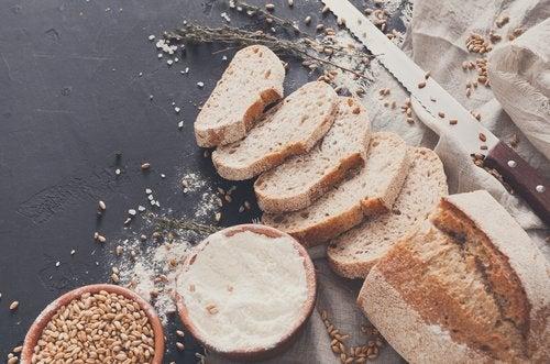集中力を高める 食材-パン