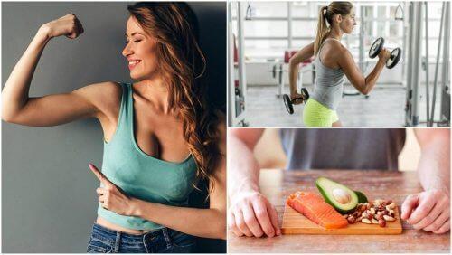 自然に筋肉量を増やす為に始めるべき5つの習慣