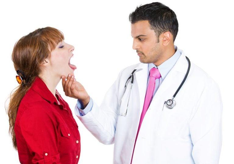 口の中の診察