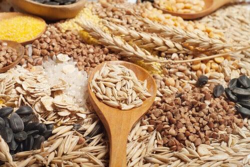 いろいろな穀物