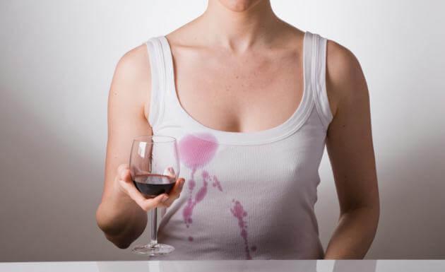 ワインのしみ