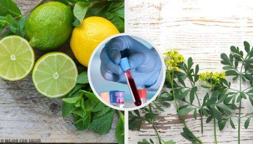 カルリン:ヘンルーダとレモンを使った自然療法