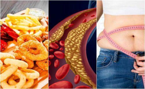 コレステロール値が高くなる6つのこと