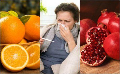 インフルエンザを予防する8つの食材