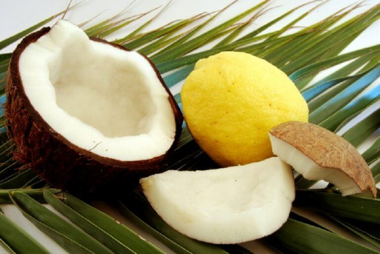 ココナッツとレモン