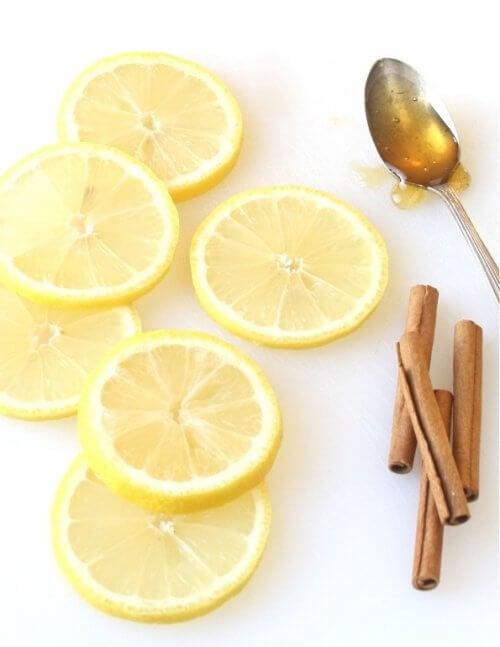 レモンとシナモンの自然療法