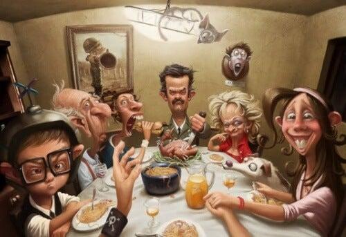毒のある家族