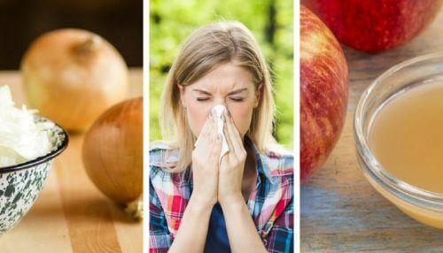 抗ヒスタミンの自然療法でアレルギーを抑える方法