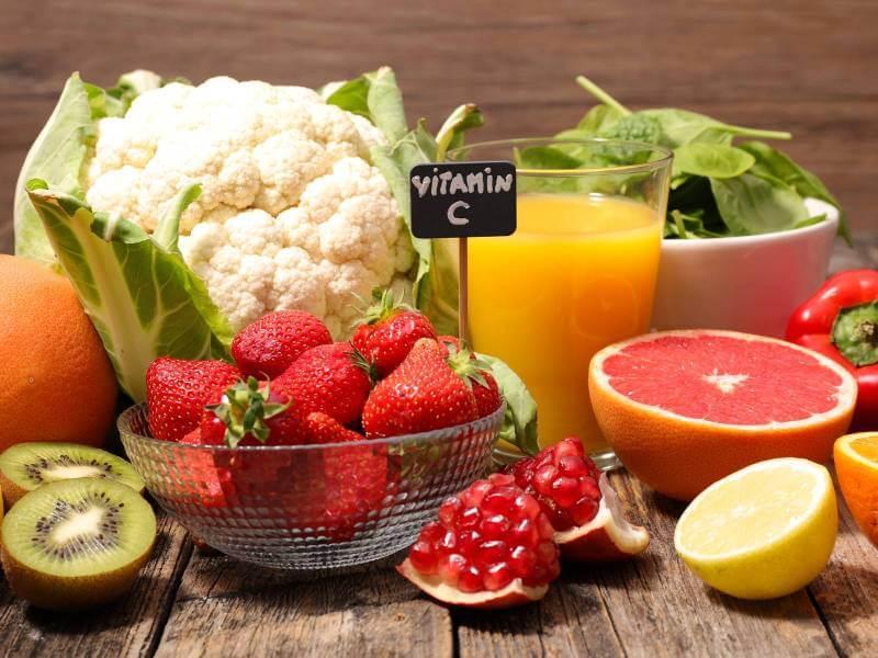 ビタミンCの豊富な食材