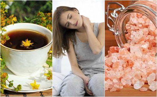 首の痛みに効果的な5つの自然療法