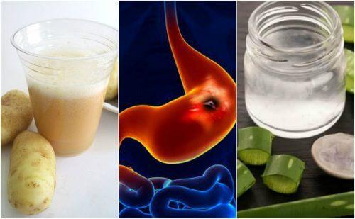 胃潰瘍からの回復を促進する自然療法5選