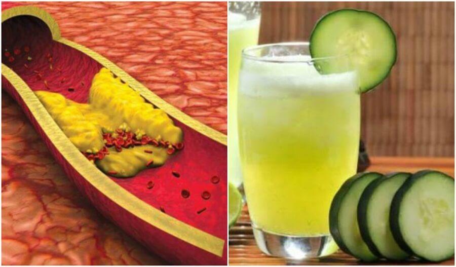 アロエ・きゅうり・グレープフルーツジュースでコレステロールを下げる方法