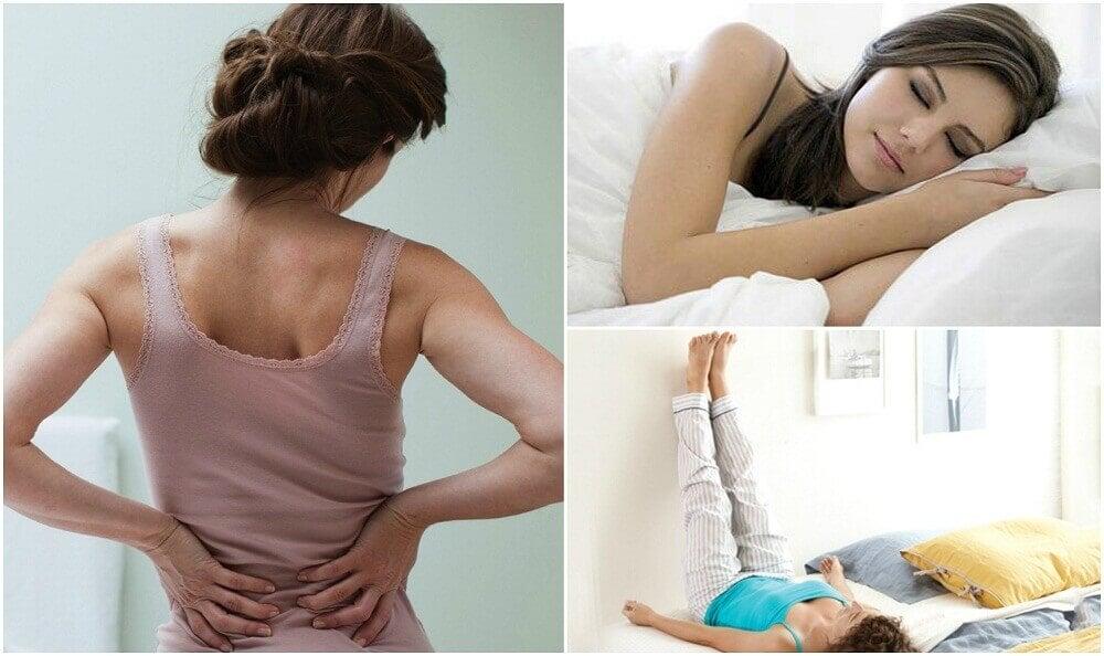 腰の痛みを軽減する7つの方法
