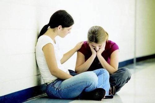 心身の健康バランス:他人を助ける