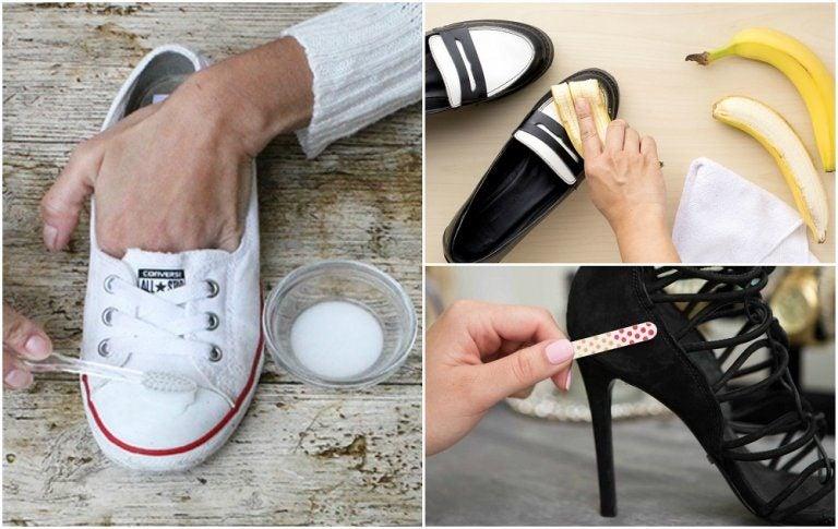 靴を新品のようにきれいにする驚きの方法10選