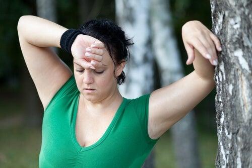 ストレスによる体重増加