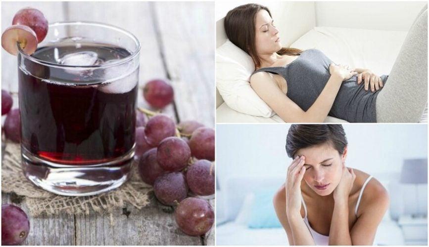 グレープジュースを定期的に飲むことによる6つのメリットとは?