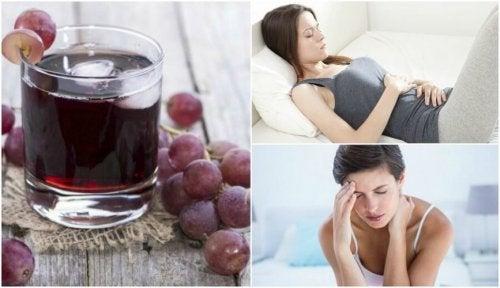 ブドウジュースを定期的に飲むことによる6つのメリットとは?