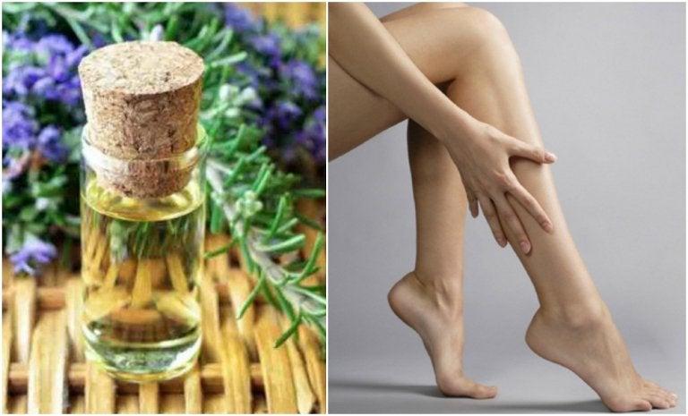 脚を強くしなやかに:ファーミングオイルの作り方