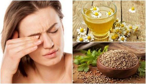 目のかゆみを抑える5つの自然療法