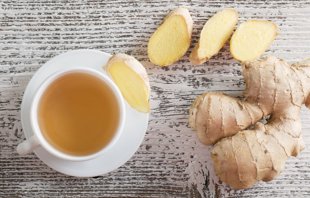 ショウガ茶