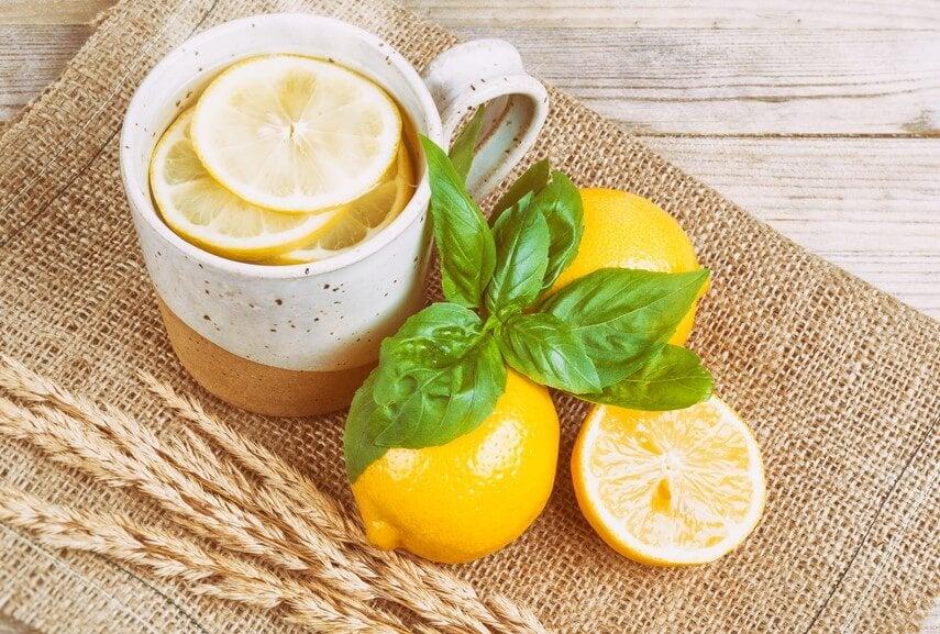 レモンと紅茶
