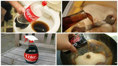 家の中でコーラを活用する8つの方法