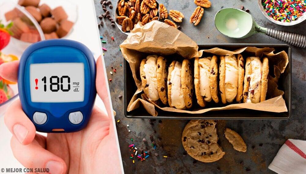 糖尿病の人のためのデザート4種