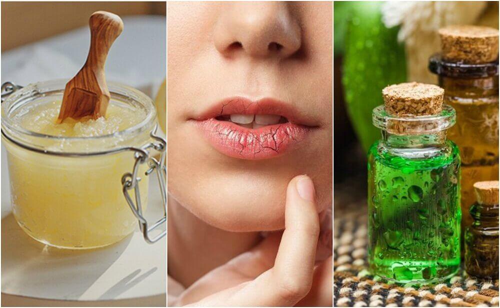 唇のひび割れ予防とお手入れ方法