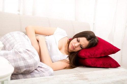 月経異常 の腹痛