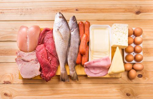 お肉、魚、チーズなど