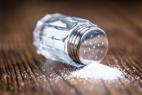 塩分の多い食事