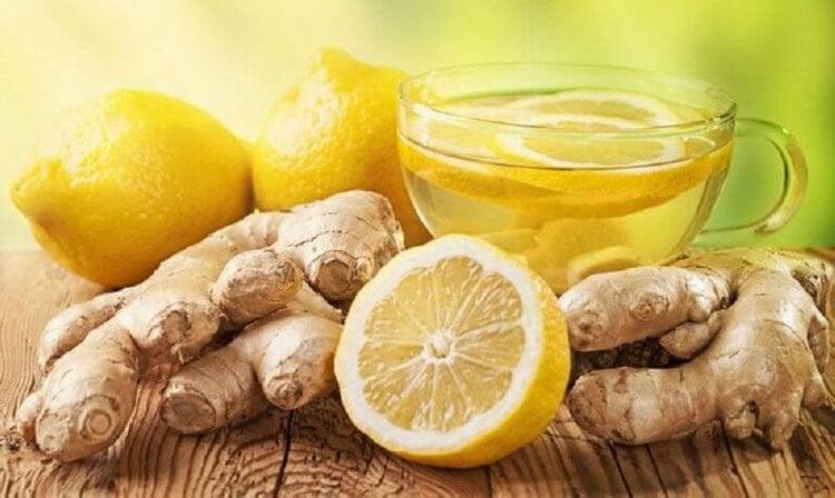 生姜とレモン