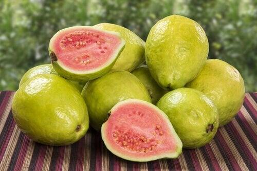 血小板増加のレシピ:グアバ