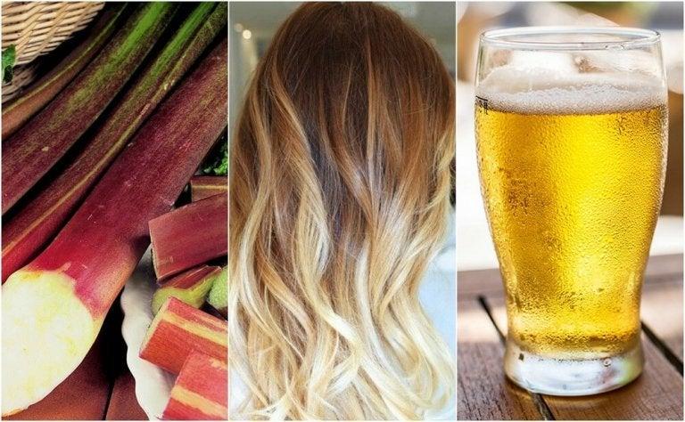 自然に髪色を明るくする方法5選
