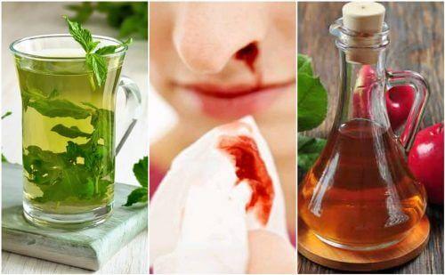 鼻血 を止める方法5選