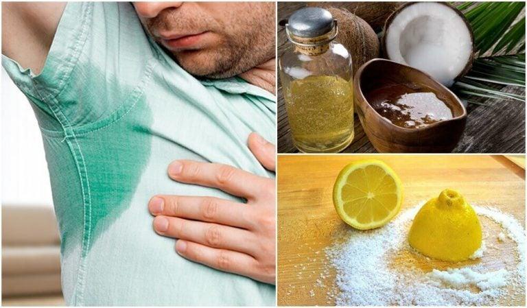 過剰な汗を抑える5つの自然療法