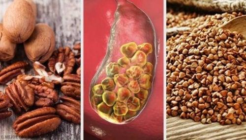 胆石と闘うのに役立つ食べ物6選