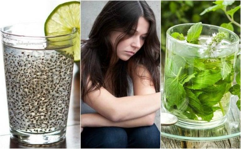 うつ病に6つの天然ドリンクで対処する