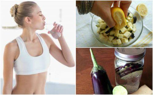 ダイエットに効くナス&レモンウォーターのレシピ