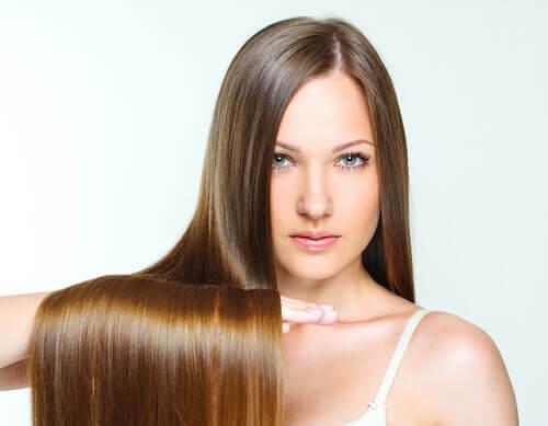 ツヤのある髪の毛を作る