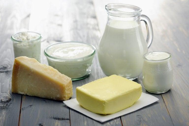 乳製品に気を付ける