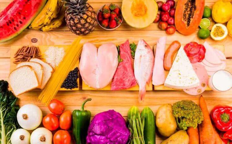 様々な健康的な食材