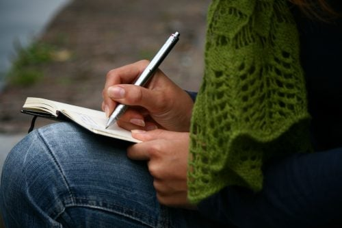 ノートに書く