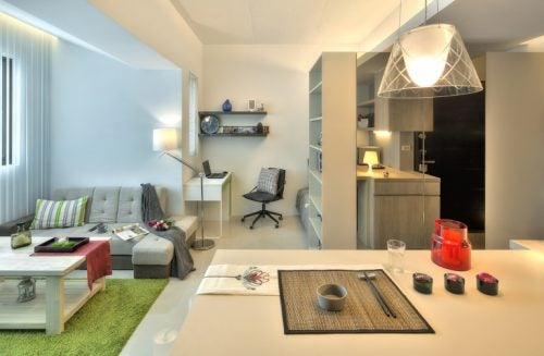 LDK+仕事スペース
