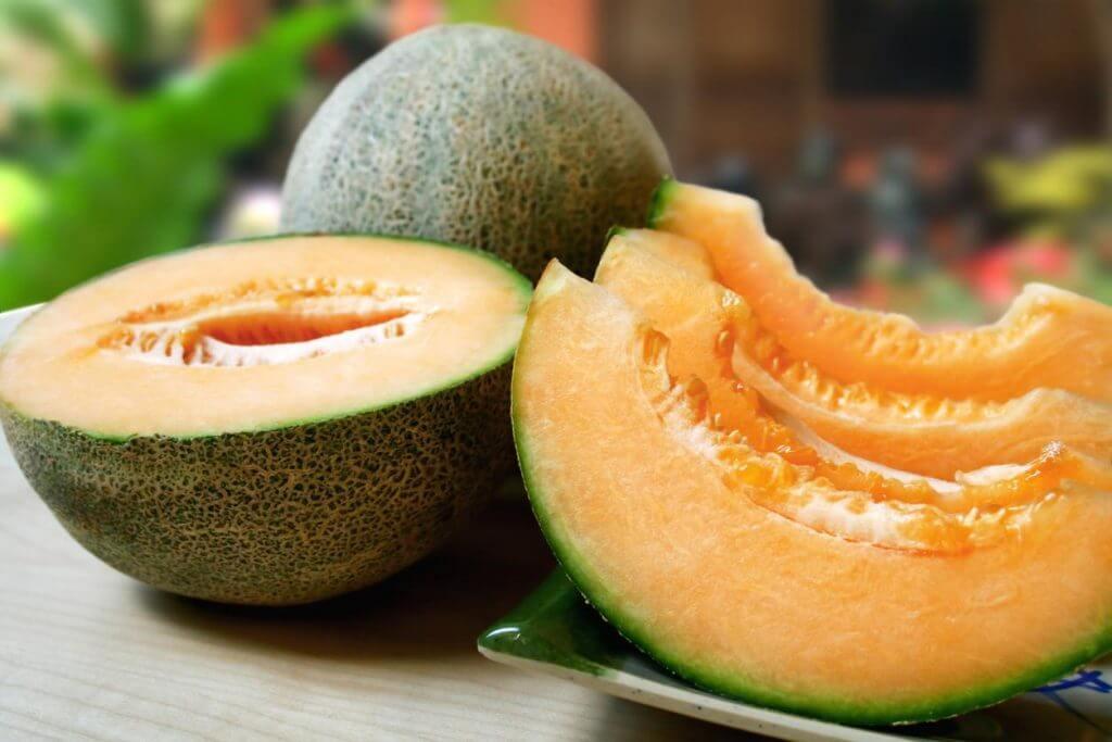 オレンジのメロン