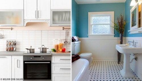 キッチンと浴室の 悪臭 を消す自然療法